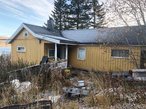 Denne boligen ble denne uken lagt ut for salgs. Prislappen er på 350.000 kroner.