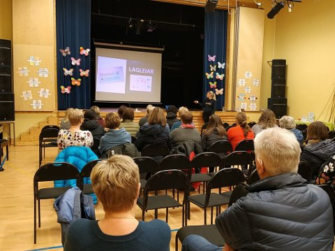 Ballangen skole fikk i forrige uke besøk av Gleding-teamet som sprer informasjon om god psykisk helse.