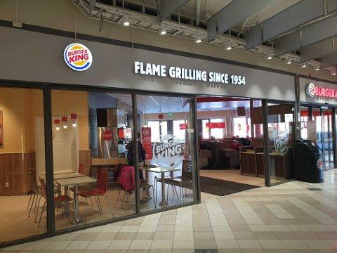 Burger king Narvik. Arkivfoto