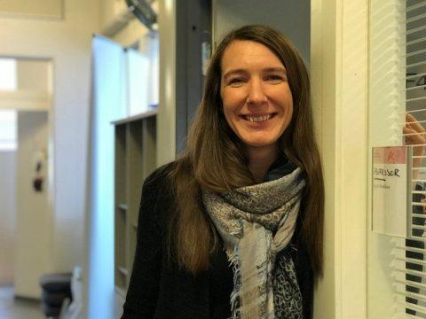 Ung professor: Sigrid Brækkan fra Narvik er tilsatt som professor ved UiT.