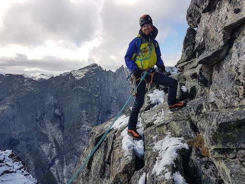 FRYKTER FØLGENE: Håkon Wegge frykter for følgene hivs Narvik får snøscooterløyper.