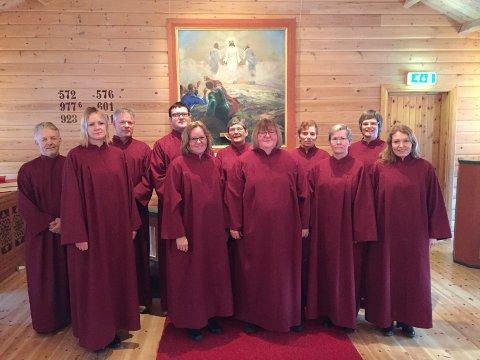 Vårtoner: Narvik Kirkekor har invitert sangkollegaer fra Sverige til gratis ettermiddagskonsert i Sjømannskirken lørdag.