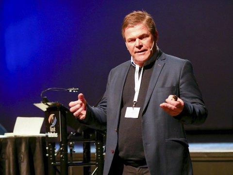 Får støtte fra bankene: Erik Plener, leder i Alpin-VM 2027, setter pris på engasjemente fra de nordnorske bankene.