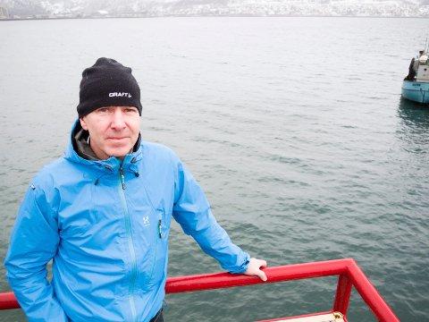 Tragisk: Leder i Narvik Båtforening, Ulf Eirik Torgersen, omtaler lørdagens ulykke som tragisk, og forteller at båtmijøet i Narvik er preget av hendelsen.