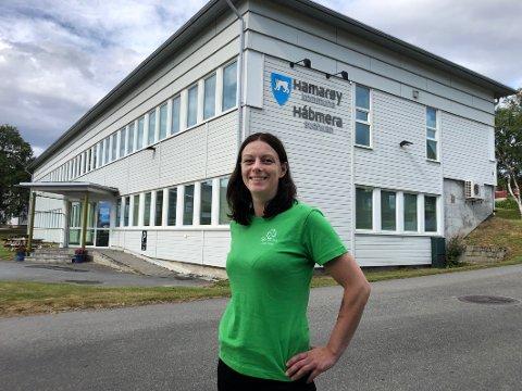 Ordfører? Britt Kristoffersen fra Senterpartiet kan bli den første ordføreren i nye Hamarøy kommune.
