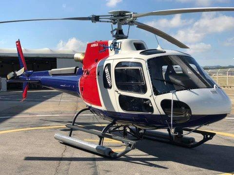 HELI: Helikopteret ble levert til Helitrans i juni i år. 31. august styrtet helikopteret utenfor Alta. Seks mennesker omkom.