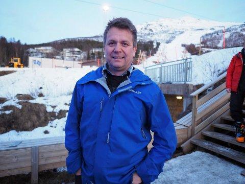 Presenterte nytt selskap: Harald Kuraas. Arkivfoto