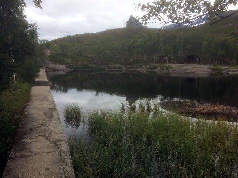 idyll: Gapahug, grillplass og ørretvann ved Førstevann.