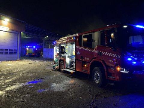 BRANN: På HRS anlegg på Djupvik har det oppstått flere branner som har startet i batterier.