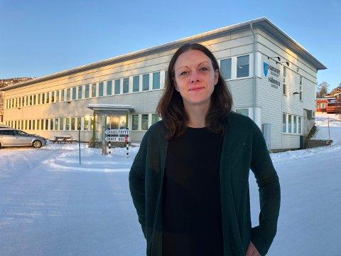 Ordfører i Hamarøy kommune, Britt Kristoffersen
