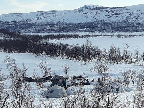 SOLGT: Villmarkstur basecamp ved Leinavatn er nå solgt fra Villmarkstur AS til Troms skog og utmarksservice.