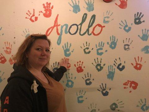 APOLLO: Fritidsklubben Apollo mottar en julegave på 290 000kr fra Gjensidigestiftelsen. – Vi er kjempefornøyde, sier leder Gro Helene Klingenberg.