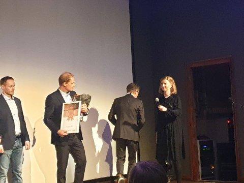 ÅRETS BEDRIFT: Funn AS vant prisen for årets bedrift.