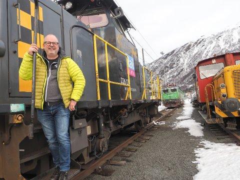 TROR FLERE KOMMER PÅ BANEN: Sammen med flere andre aktører har Stig Winther i Pole Position i Narvik siden 2017 jobbet for å få i stand et tilbud med direkte tog mellom Narvik og Malmö. Han mener fisketoget mellom de to byene bare er starten.
