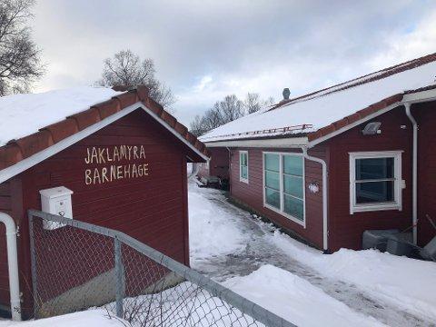 BEST I TEST: Jaklamyra barnehage skårer best når det gjelder total tilfredshet blant foreldre som har barn i barnehage i Narvik.