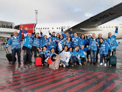 Leder Stig Winther takker Narvik Hockey sine fantastiske supportere i Ørneskriket.