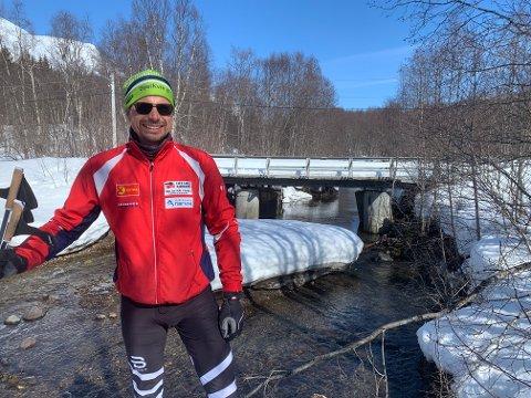 VIL HA LOKALE TILPASNINGER: Rune Skog, leder i Bjerkvik IF.