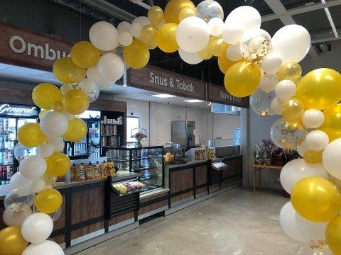 ICA Jãckvik åpnet den nye butikken i vinter. Så kom koronaen og de tapte millioner. Nå blir Norrboten gult.