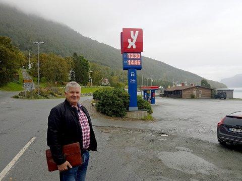 GIR GASS: Det hele startet med en fiks idé fra en kompis av Ola Giæver jr. Nå satser forretningsmannen, og vil åpne tre apotek i Troms.