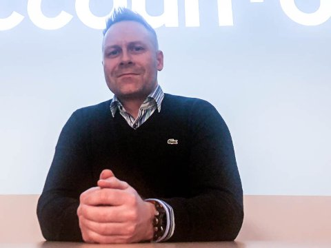 DAGLIG LEDER: Terje Andersen er daglig leder for Accountor, Narvik.