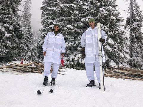 Onsdag kan du se bjerkviking forsvarssjef Eirik Kristoffersen sammen med Jørgine Massa Vasstrand, bedre kjent som Funkygine, i TV-programmet Sløsesjokket på NRK.