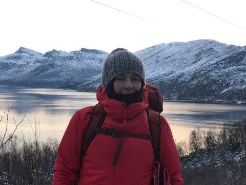 IKKE SKREMT: Freddy Iversen gikk 25 fjellturer i fjor, og turen søndag var hans tredje fjelltur på vinteren. Den endte med overnatting i en ishule og berging av redningshelikopter. – Jeg har ikke blitt skremt av denne opplevelsen, og skal på ny tur om ikke lenger. Men da blir det en rute som jeg kjenner, sier han.