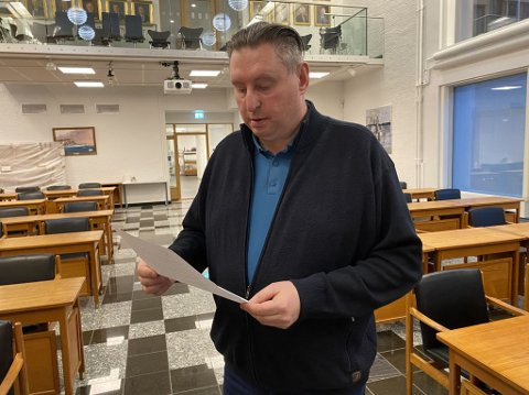 PASSER PÅ: Ordfører Rune Edvardsen lover at kommuneledelsen vil passe på om fremtidig beredskap på UNN Narvik.