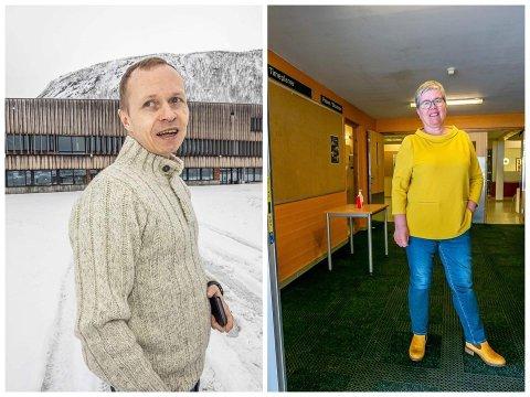 SKOLE: Rektorene ved Tromsdalen VGs og Tromstun, fikk en ubehagelig beskjed torsdag formiddag.