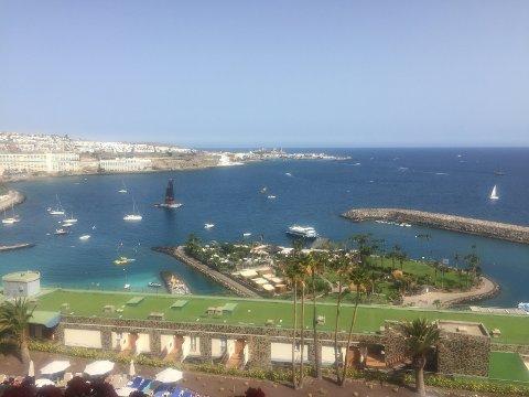 FLOTT: Gran Canaria, her stranda utenfor Anfi del Mar, er en populær øy for feriehungrende nordmenn og narvikinger.