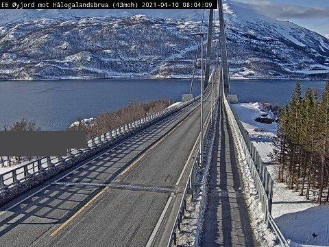 E6 Hålogalandsbrua retning Narvik