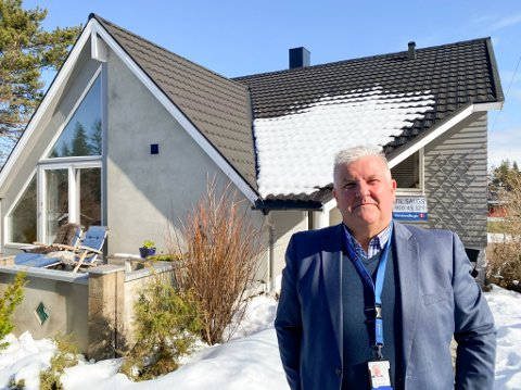 Hans Øyvind Bakkejord solgte dette huset onsdag formiddag etter to fullbookede visningsdager.