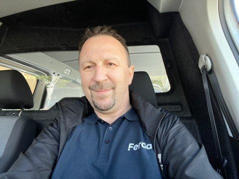 NY SJEF: Kurt Kvello er ny daglig leder i Ferda Bjerkvik/Evenes.