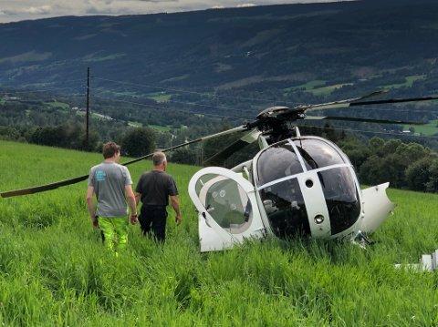 Helikopter av typen Hughes Helicopters ble operert av det polske firmaet First European Aviation Company.Helikopteret var registrert i Sverige, hadde svensk pilot og var underlagt svensk myndighet.