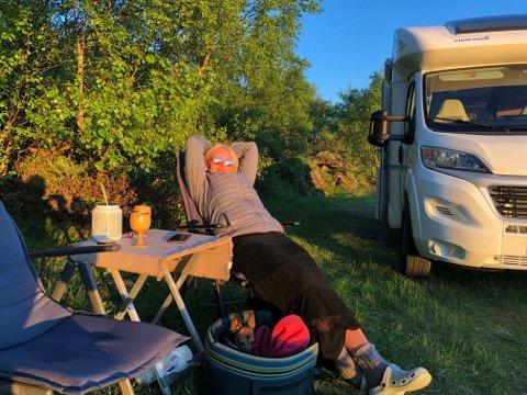 FRICAMP: Fricamp med bobil er stadig mer populært, men campere må også sette seg inn i gjeldende lover og regler. Fricamp regnes som ferdsel i naturen og reguleres gjennom friluftsloven.