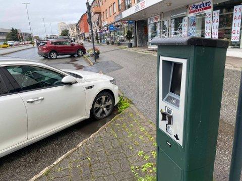 NY: Slik ser den nye parkeringsautomaten ut.