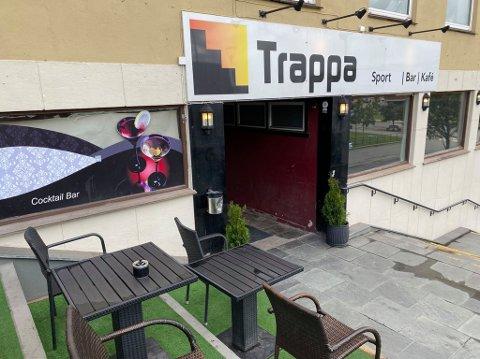 STENGT: Trappa sportsbar er stengt av kommuneoverlegen.