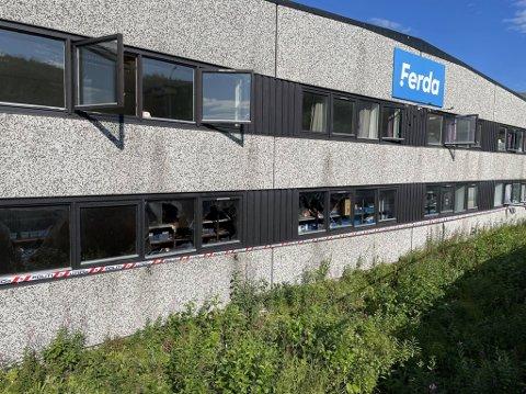 BRANN: 7. august rykket Ofoten brann ut til et branntilløp ved Ferda i Bjerkvik.