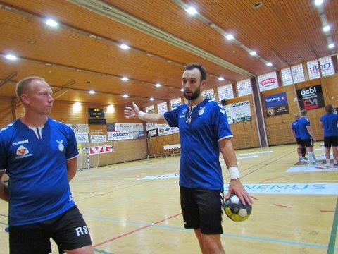 SKADET: Gustaf Hallén har fått en uønsket tidlig juleferie. Svensken blir ikke å se på banen igjen for Falk før neste år.