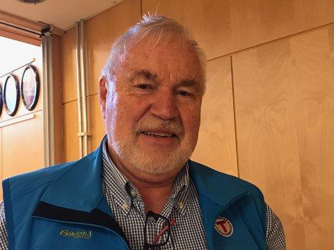 JØRN JORDE: Leder i turistforeningen Horten er svært tilfreds med at politikerne sier ja til bro over Kvisla.