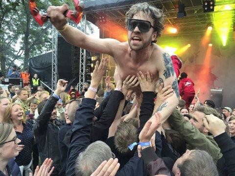 FESTIVALBY: Hortensfolk er stolte av Vervenfestivalen. Men kanskje skal vi være like stolte av Slottsfjell? Eller Færdernfestivalen som nå er etablert i Tønsberg?