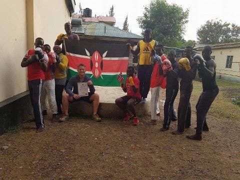 STATLIG DOKUMENT: Andreas Gilbu har opprettet og registrert en bokseklubb i det kenyanske register.