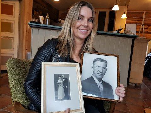 DIN HISTORIE: Sølvi Foss har et ønske om at familiebildekveldene skal bli en fin anledning til å bli kjent med den nære historien, og slektninger som har gått bort. Etter at hun dykket ned i sin egen familiehistorie, føler hun et sterkere slektskap med farfar, onkel og farmor.