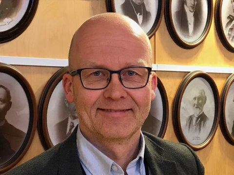 GODT RESULTAT: Økonomisjef i Horten kommune, Ole Grinde, presenterte et kommuneregnskap for 2018 med et overskudd på 48,7 millioner kroner.