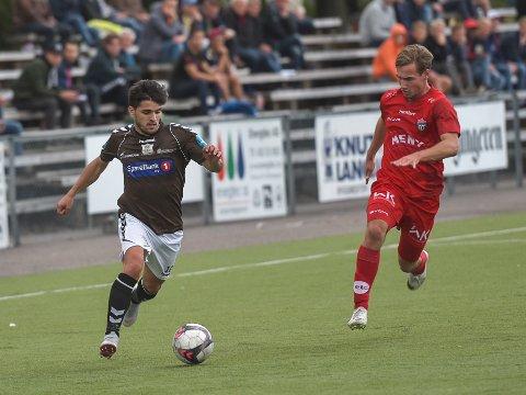 TRENINGSKAMP: Nuno Soares og Ørn møter FK Tønsberg i treningskamp lørdag 13.00. Kampen ser du direkte på gjengangeren.no.