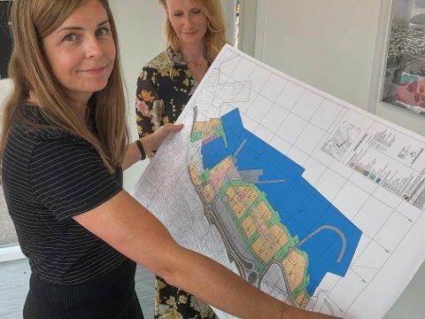 HOLDER FAST PÅ PLANENE: I desember 2019 inviterte kommunalsjef Silje Vaadal til et åpent møte om planene for havna. Nå er forhandlingene mellom kommunen, Horten havnevesen og Bane NOR i sluttfasen.