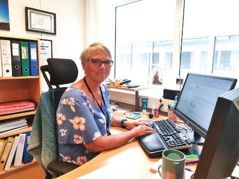 HR-SJEF: Hanne Aspaas synes det er spennende å følge med på den store utviklingen som skjer med digitalisering i Horten kommune.