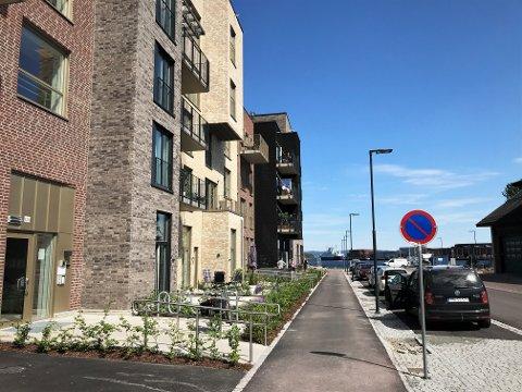 VENTER: Rolv Wesenlundsvei har fortsatt ikke fått skilt med gatenavn.