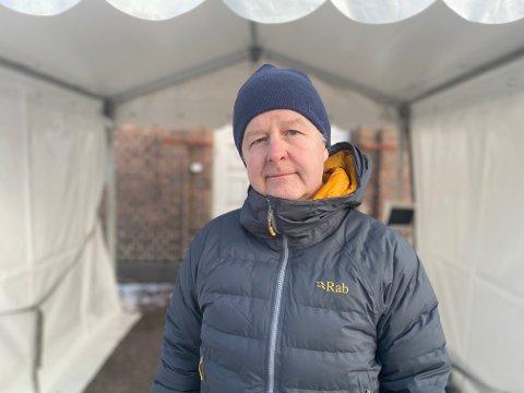 I BEREDSKAP: Ordfører Are Karlsen har satt kriseledelse etter påvist smitte i hjemmetjenesten i Horten kommune.