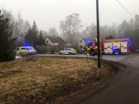DØDE: En mann i 80-årene omkom i slutten av mars etter at han fikk et illebefinnende og kjørte av veien.