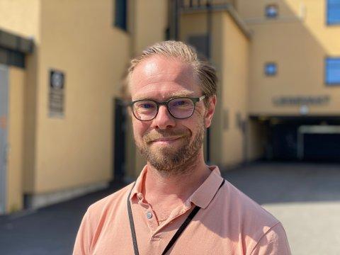 SJEF: Ansvarlig for Horten legevakt, Torbjørn Aunan, gleder seg til noen uker med familien.